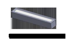 flat tube light