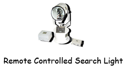 Remote Controlled Search Light